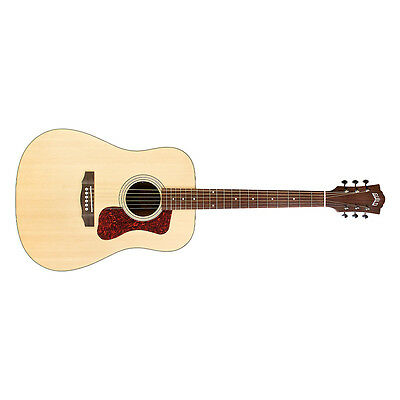 Guild Westerly D-240E Acoustic-Electric Guitar Dreadnought Natural + Gig Bag