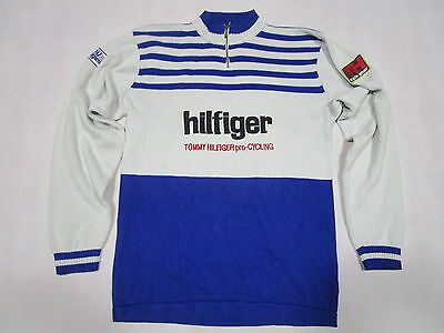 Tommy Hilfiger Pullover Cycling Gear Race Series New York Jersey Vintage 90s  L