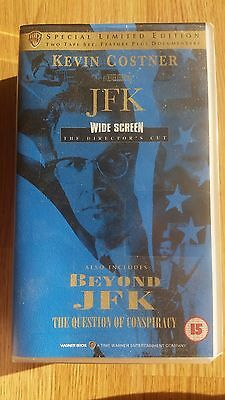 VHS Job Lot Includes JFK Special Limited Edition