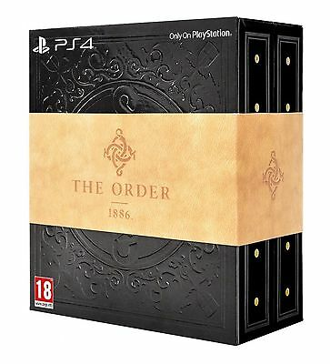 Sony PLAYSTATION PS4 THE ORDER 1886 BLACKWATER COLLECTORS EDITION