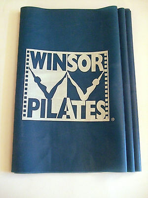Winsor Pilates Resistance Band Blue Band Mari Winsor Workout Fitness Exercise