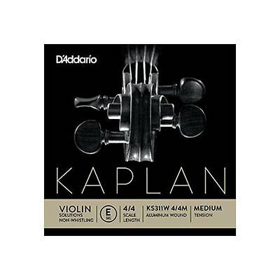 Corda MI per violino 4/4 KAPLAN SOLUTION - Non Whistling (KS311W) - Medium