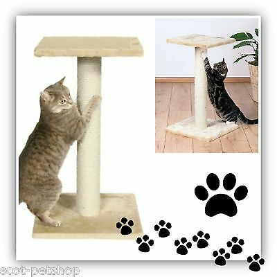 Cat Tree Large Scratch Post Espejo Beige Cats & Kittens