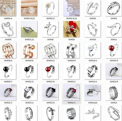 Men Women Engagement Ring Wedding jewelry 925 STERLING SILVER Rings