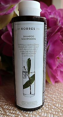 Korres shampoo for dandruff and dry scalp, 250 ml.Laurel & echinacea
