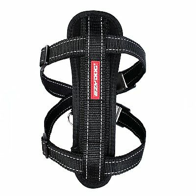 Ezydog Chest Plate Dog Harness - X Large Black  * WEEKEND SPECIAL *