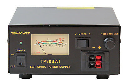 TekPower TP30SWI 30 Amp DC 13.8V Switching Power Supply with Noise Offset
