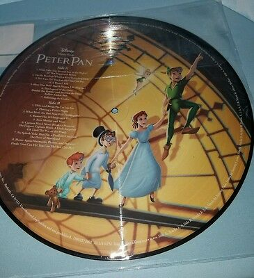 Disney Parks Vinyl Record Collection PETER PAN (PICTURE DISC) Wendy NEW