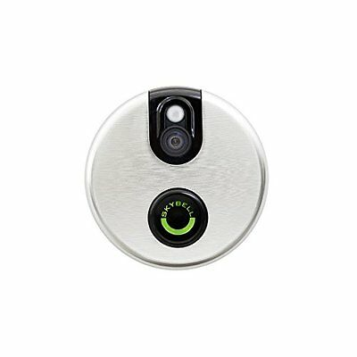 Brushed Aluminum Skybell Wi-Fi Video Door Bell (Skybell 2,0) (p1X)