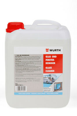 WÜRTH Glass and Window Cleaner 5 Liter (08902205)