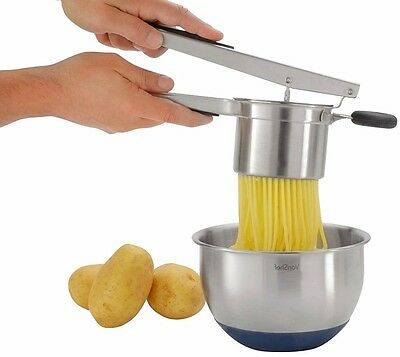 Steel Potato Ricer Masher Stainless New