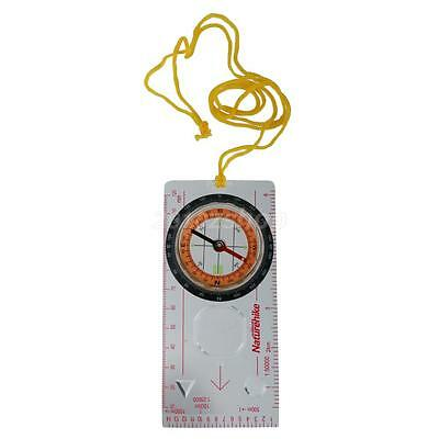 NatureHike Kunststoff Wandern Bauplatte Scouts Map Scale Ruler Compass
