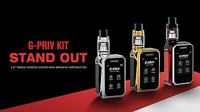 SMOK G-PRIV | 220W TOUCH SCREEN MOD | TFV8 BIG BABY 5ml TANK | BUY NOW!!!