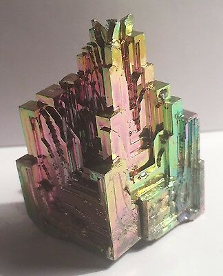 Spectacular 79.4 Gram 999.0 Pure BISMUTH CRYSTAL CASTLE (Great Investment)