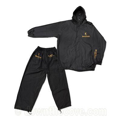 Browning Black Magic Rain Suit  for Fishing - Waterproof & Windproof - 3 Sizes