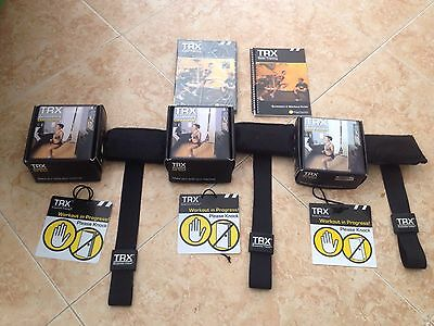 3 x TRX Door Anchors & Basic Training Suspension Training DVD & Guide Book