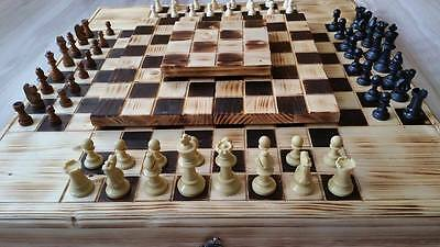 Level chess for 4 players