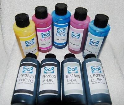 GENUINE OCP INK KIT FOR EPSON STYLUS PHOTO R2880 T0961 T0969(NOT original Epson)