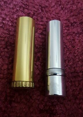 Vintage Metal Lipstick Containers
