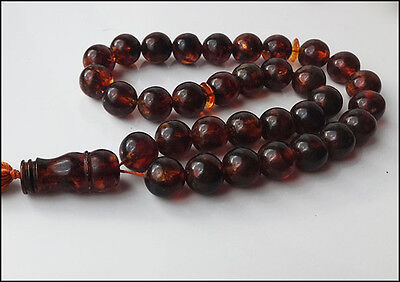Baltic Amber Islamic Prayer Beads