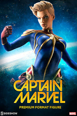 Captain Marvel Sideshow Collectibles Premium Format IN STOCK