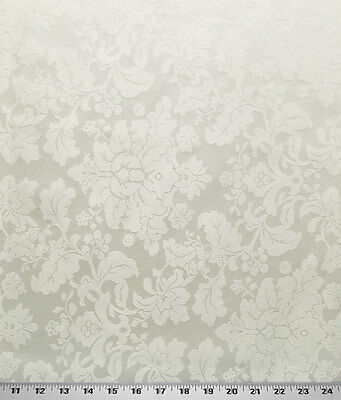 Drapery Upholstery Fabric Tone On Tone Floral Damask 114 W Off