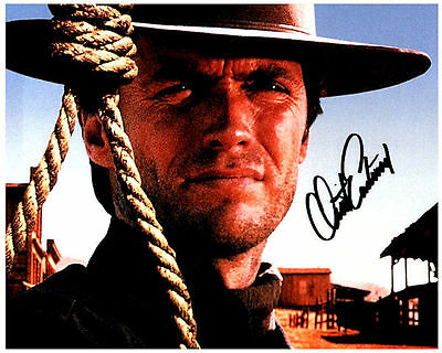 CLINT EASTWOOD Authentic Signed Autographed 8X10 Photo w/ COA - Photo 3