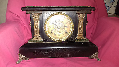 "Seth Thomas ""ADAMANTINE"" mantel clock"