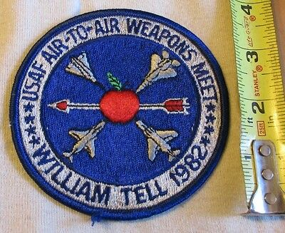 USAF 1982 William Tell Patch