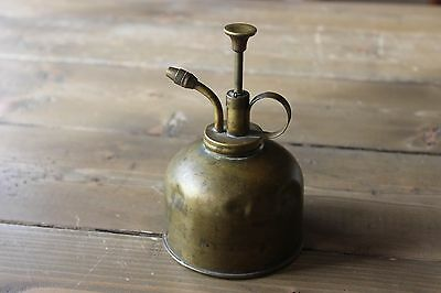 Vintage Brass/copper Plant Sprayer / Mister Pump Can