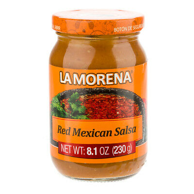 NEW La Morena Red Mexican Salsa Jar 230g
