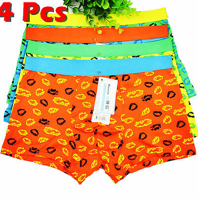 Men's Underwear Boxer Briefs Cotton Bulge Pouch Trunks Shorts Underpants Pants