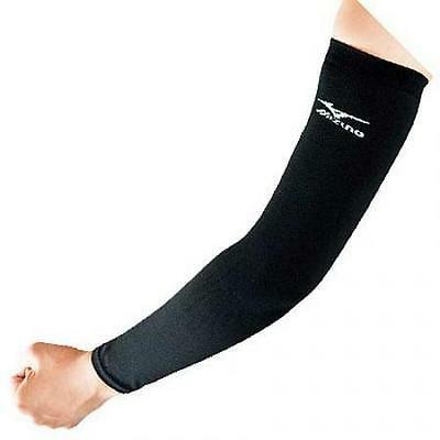 Mizuno Volleyball Elbow Pad Supporter long sleeve Training Black 59SS205 Japan