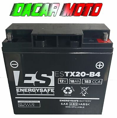Battery Gia Charger Gel Motorcycle Battery Energy 12V 18Ah Ducati 748 S Sp Sps