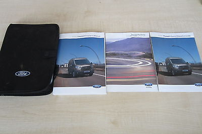 FORD TRANSIT 2013-2016 Owners Manual Handbook & EMPTY SERVICE BOOK Wallet Pack