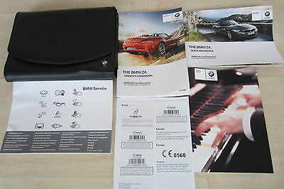 2013 BMW Z4 E89 Owners Manual Handbook & EMPTY SERVICE BOOK with Wallet Pack