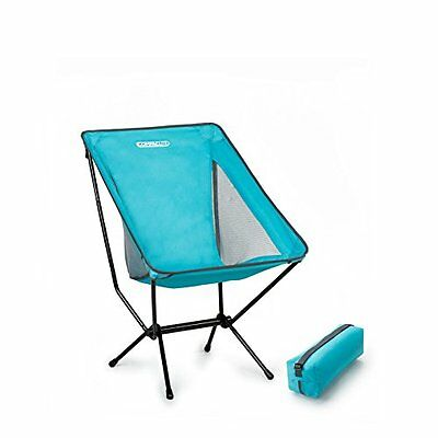 Compaclite Deluxe Steel Camping Portable Chair with mesh side panels for Outd...