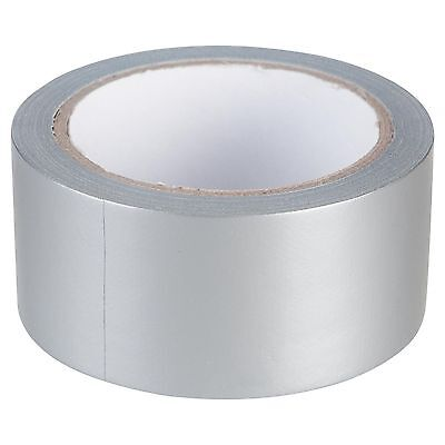 New 50MM X 25M Metre Silver Gaffa Gaffer Duck Duct Tape Strong Waterproof Cloth