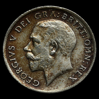 1921 George V Silver Sixpence – GVF