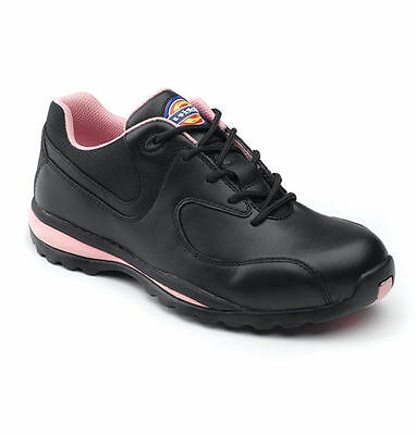 Womens Ladies Dickies Lightweight Work Steel Toe Cap Safety Shoes Trainers Boots