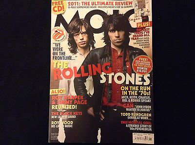 Mojo Magazine Jan 2012 The Rolling Stones  Excellent Condition