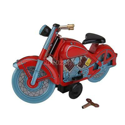 Blechspielzeug Motorrad Blechmodell Motorcycle Modell mit Wind-up