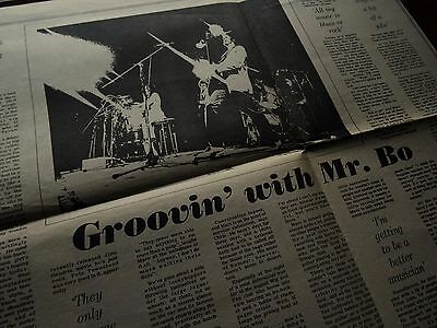 Marc Bolan Record Mirror Interview June 30th 1973 (Original Music Paper Cutting)