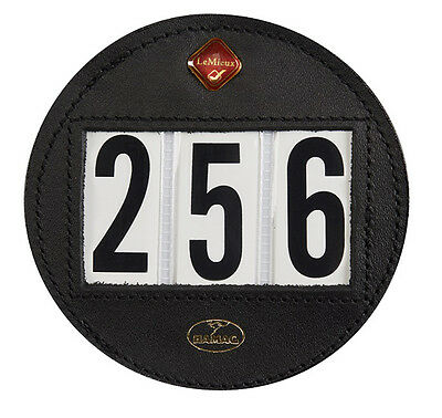 New Hamag for lemieux black leather bridle interchangeable numbers