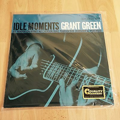 Grant Green - Idle Moments Analogue Productions Blue Note 45RPM 200g Vinyl 2-LP