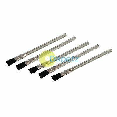 5Pk Solder Flux Brushes - 15mm