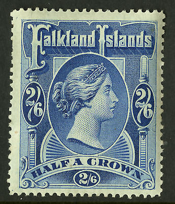 Falkland Islands  1898  Scott # 20  Mint Lightly Hinged