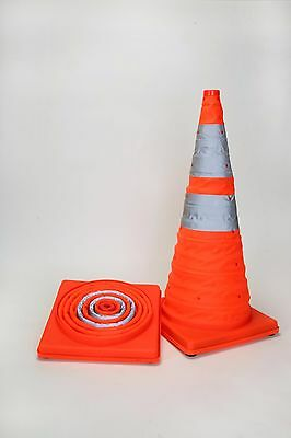 NEW Collapsible Traffic Safety Cone 16 Inches High, Multi Purpose. FAST US Ship
