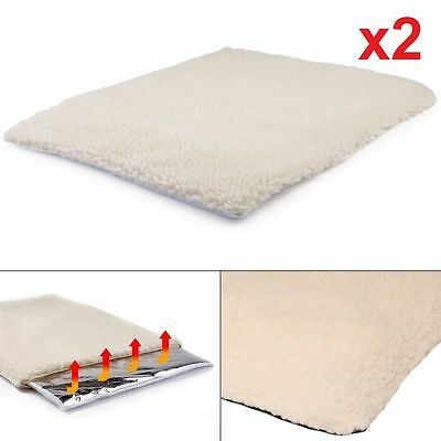 2 Or 1 Magic Amazing Self Heating Thermal Pet Tunnel Bed Cat Dog Puppy Warm Mat