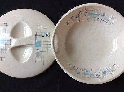 Franciscan Oasis Ware Large covered serving dish mid century modern Gladding McB